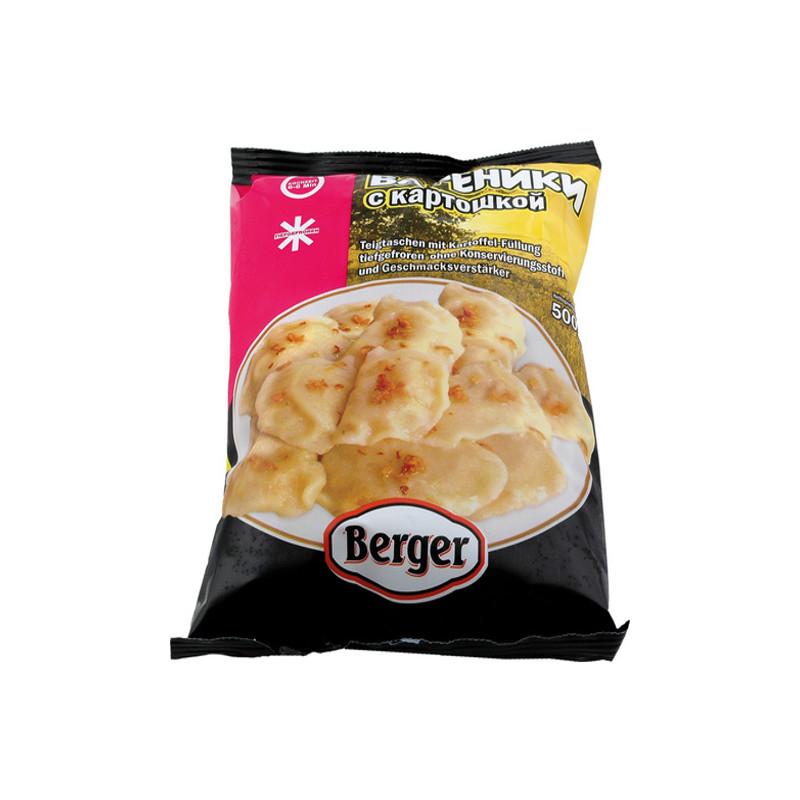 Berger Taštičky Vareniki s bramborovou náplní 500g