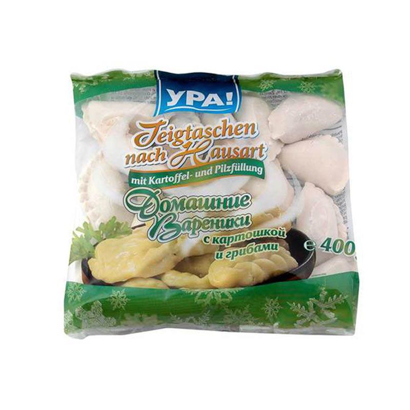 YPA Taštičky Vareniky s bramborami a houbami 400g