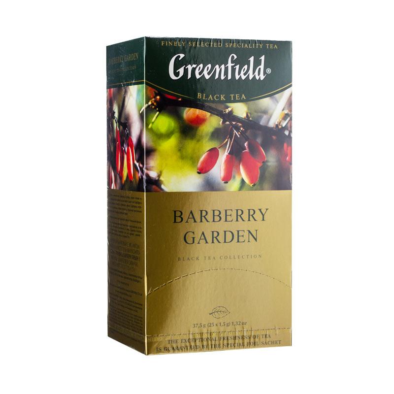 Greenfield Čaj černý Barberry garden 37,5g