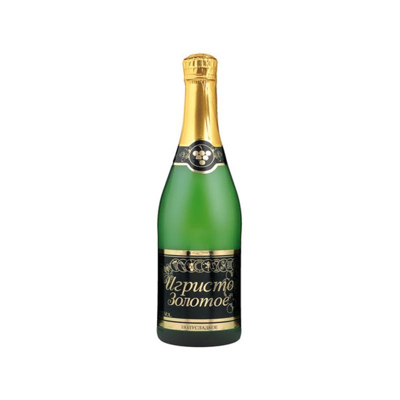 Igristoe Zolotoje - šumivé víno bílé polosladké 0,75l
