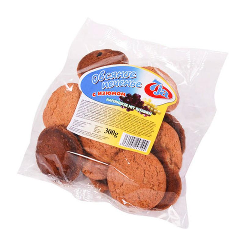 7ja Ovesné sušenky s rozinkami 300g