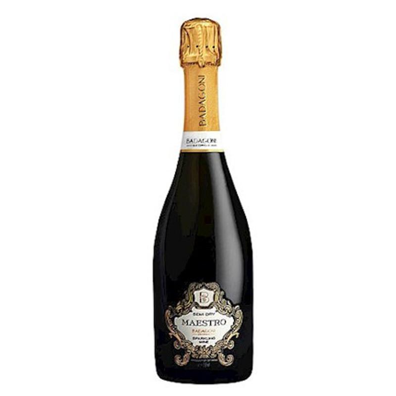 Badagoni Sekt Maestro Semi Dry - šumivé víno  0,75L