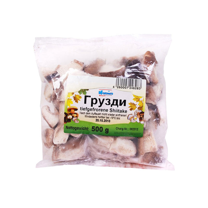 7ja Mražené houby Shiitake 500g