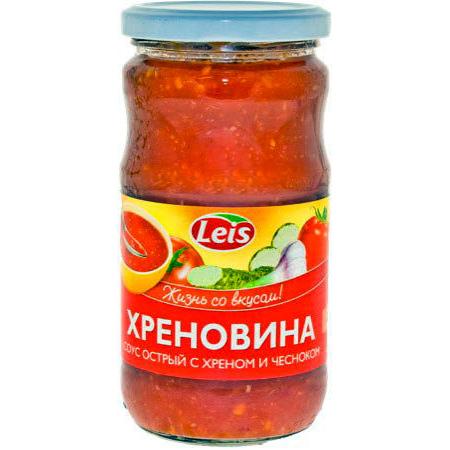 Leis Chrenovina rajčatovo křenová omáčka 370g