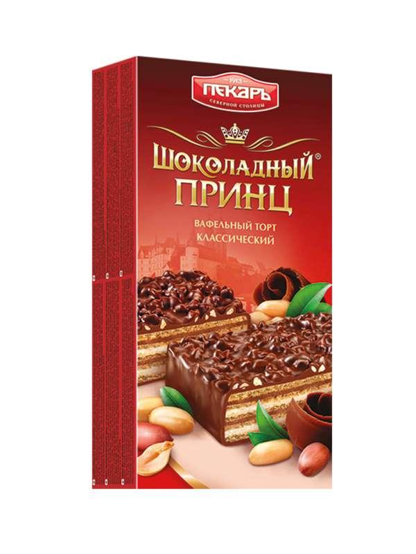 Oplatkový dort vaflový Čokoládový Princ 260g